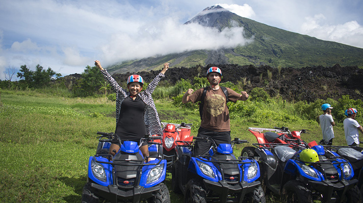 Bicol ATV Ride : Trevally Travel and Tours